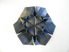 Bea Flower - Beata Kupczak (Rui.Roda) Tags: flower origami bea tessellation papiroflexia beata tecelagem papierfalten kupczak tecelado