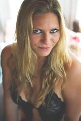 Sensuality (jpben photography) Tags: summer portrait woman sun sexy window girl eyes nikon underwear naturallight lingerie depthoffield blond d800 sigma50mmf14art
