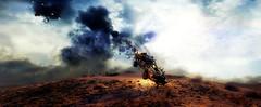 Meteor falling) (Sspektr) Tags: pc screenshot videogame madmax wasteland postapocalypse madmaxgame
