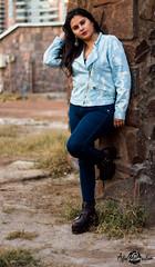 Valeria Gonzalez (Abel Dorador) Tags: chile street autumn winter fashion june clouds canon hair 50mm eyes afternoon legs boots bricks lips jeans jacket otoo t3 18 junio sesion tarde botas sesiones antofagasta bloques chaqueta 2016 afta 0906