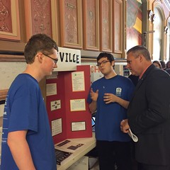 "AJ and Chase Talk with Representative Wheeler • <a style=""font-size:0.8em;"" href=""http://www.flickr.com/photos/109120354@N07/27085377716/"" target=""_blank"">View on Flickr</a>"