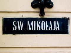 Wrocaw (isoglosse) Tags: sign streetsign poland polska schild polen sansserif wrocaw breslau znak kreska strasenschild u0141 tabliczkaznazwulicy