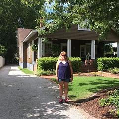 Standing in front of Bonnie's grandma's house (RichiesRosie711) Tags: georgia bonnie covington thevampirediaries
