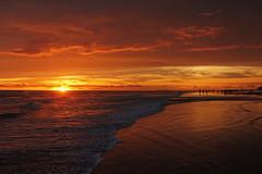 End of the Day (Rehman Sobhan Sonet) Tags: sunset sea people color beach wave coastal bangladesh coxsbazar