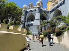 Pena Palace, Sintra, Portugal, June 2016 (leonyaakov) Tags: sintra portugal tourism travel castle park sunnyday summer architecture art holiday attraction inspiredbylove nikonflickraward
