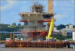 Mersey Gateway Project (Central Pylon) 3rd July 2016 (Cassini2008) Tags: construction runcorn widnes rivermersey merseylink merseygatewayproject