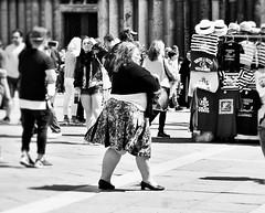 stripes (Mango*Photography) Tags: street travel venice people white black travelling interesting photoraphy emotional giulia bergonzoni