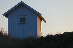 Summer Evening (Hkan Dahlstrm) Tags: sunset beach architecture photography se evening skne cabin sweden uncropped skanr 2016 f32 skneln ef200mmf28lusm badhytt canoneos5dmarkii 11000sek skanrmedfalsterbo 21504062016205253