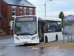 GJ Holmes YY64GWW Alfreton (Guy Arab UF) Tags: bus buses station derbyshire 200 alexander dennis holmes gj enviro independents alfreton e20d yy64gww