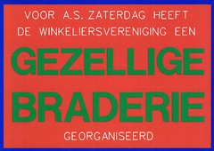 EDSCARDS # 53 (streamer020nl) Tags: ed design postcard 53 limitededition 1990s gezellig braderie postkarte winkeliersvereniging edscards