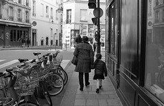 Going to school (Amelien (Fr)) Tags: blackandwhite bw film monochrome analog nikon noiretblanc amd nb f 400 nikkor rodinal ilford fp4 argentique preai 1100 v550 oneshot pellicule standdevelopment filmisnotdead 35f14 r09 nikkorn sunnyf16 homescanned believeinfilm laboargentique capturedonrealfilm