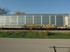 10-08-10 (42) (This Guy...) Tags: road railroad car train graffiti box graf rail rr traincar boxcar graff 2010