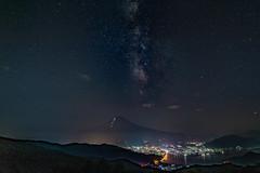 Milky Way in the Tanabata day (shinichiro*) Tags:    jp 20160707ds37846 2016 crazyshin nikond4s afsnikkor2470mmf28ged fuji lakekawaguchi yamanashi japan july summer milkyway tanabata   starfestival 28063833611