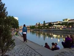 Am Donaukanal (stefan aigner) Tags: vienna wien austria europa europe donau oesterreich donaukanal osterreich