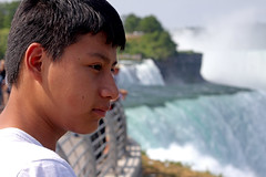 Falls for the First Time (Cairn 111) Tags: boy vacation wonder niagarafalls waterfall teen newyorkstate