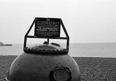 Brighton (Leonard Bentley) Tags: uk sea england beach brighton ww2 1977 eastsussex admiralty seamine navalmine theshipwreckedmarinerssociety theshipwreckedfishermenandmarinersroyalbenevolentsociety