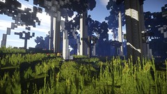 Tal der Bäume (Minecraft Wallpaper) Tags: wallpaper strand landscape mond wasser nebel ambient hd aussicht landschaft sonne schatten baum umgebung dner fullhd gronkh taddl minecraft pewdiepie sarazar herrbergmann pietsmiet thediamondminecart ungespielt