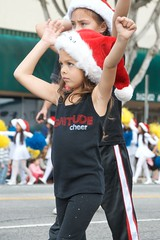 Little Magnitude (Kevin MG) Tags: usa los granadahills chatsworth parade holiday girls young cute pretty little youth preteen cheer magnitude california cheerleaders cheersquad cheerleader