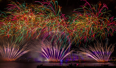 London new years eve fireworks 2014 (Photo Quintessence) Tags: new eve uk london eye westminster wheel thames lights colours display fireworks flash nye year londoneye bigben celebration newyearseve colourful celebrate thamesriver newyearsday victoriaembankment 2014 2015 lightsshow 1018mm canon700d