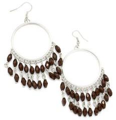 5th Avenue Brown Earrings P5310-2
