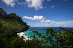 Na Pali Coast (Adam Isaac Photography) Tags: ocean mountains beach beautiful beauty canon island hawaii pacific hiking kauai epic napali pacificcoast pacificisland aih napalicoast 2014 canon60d aihphotography