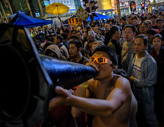 Umbrella Revolution I (Michael Steverson) Tags: china hongkong chinadigitaltimes mongkok protests occupy
