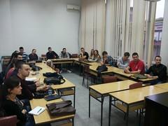 """V predavanje naprednmim studentima iz ciklusa predavanja """"Evropska ekonomska integracija"""" <a style=""""margin-left:10px; font-size:0.8em;"""" href=""""https://www.flickr.com/photos/89847229@N08/15639282529/"""" target=""""_blank"""">@flickr</a>"""