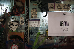 Leoncavallo (This is Awkward) Tags: travel italy streetart milan art graffiti italia milano stickers socialcenter leoncavallo thisisawkward