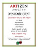 December ArtiZen open house Invitation (talltownes) Tags: music art texas midland artizen