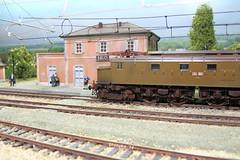 elettrificazione di Salci (skatuba) Tags: stazione linea fs stato aerea dello ferrovie h0 e428 salci elettrificata