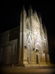 Orvieto - il Duomo (fotomie2009) Tags: italy church architecture night italia cathedral gothic chiesa duomo notturna nocturne notte architettura umbria cattedrale orvieto gotico santamariaassunta