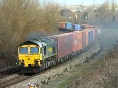 66501_4O15_23Dec14 (cmdl88) Tags: southampton freightliner class66 japan2001 66501 didcotnorthjunction 4o15 hamshallparsec