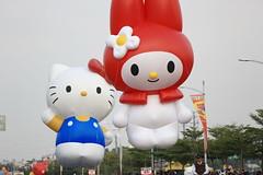 2014 - 1220 iMG_392 (PIPIQ) Tags: xmas balloons big taiwan parade kaohsiung  2014 dreammall