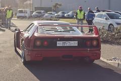 Ferrari F40 (Spotter31) Tags: red k les rouge spider very ferrari coeur du enzo gto gt legend rosso rare carcassonne supercar speciale aperta f40 f50 2014 599 lgende 458 fxx tlthon laferrari