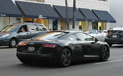 Audi R8 (RudeDude2140a) Tags: sports car grey exotic audi coupe supercar r8