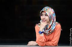 Fayee (Limelight Fotography) Tags: cute sexy girl beautiful fashion scarf hair eyes pretty photoshoot sweet modeling gorgeous hijab muslimah malaysia kualalumpur lovely kl tudung