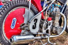 Racer (robtm2010) Tags: usa canon massachusetts newengland motorcycle vehicle salisbury hdr racer racingbike photomatix photomatixpro vintagebazaar 3ti pettengillfarm