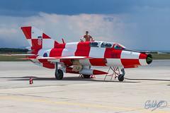 Croatian Air Force - Mig-21UMD Kockica (Edostuff) Tags: force 21 air croatia umd mig croatian hrvatska mig21 165 hrvatsko zrakoplovstvo ratno kockica zemunik