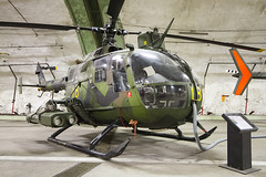 Bolkow (MBB) HKP9a (BO-105) 09218 (zymurgy661) Tags: museum canon force sweden aircraft aviation air gothenburg hangar swedish save collection bunker aeroseum bo105 bolkow hkp9a 09218