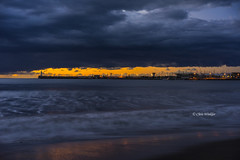 First Light of 2015 (Alpha 2008) Tags: sea sky beach japan clouds sunrise pacific sony  coastline alpha kanagawa    shonan fujisawa autofocus       a7r ilce7r