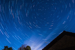 Star Trails January 6th (nicklucas2) Tags: trees house night clouds stars startrails