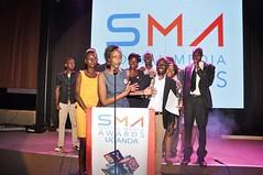 SMA acceptance of award
