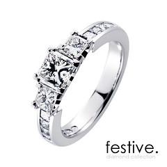 Kotimaiset Festive-timanttisormukset tuovat kestävää iloa kantajalleen