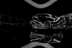 bugatti veyron (moltofredo) Tags: bw white black monochrome vw sw bugatti weiss schwarz sonyalpha6000