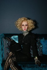 Candy in black (FashionVictimsGermany) Tags: doll candy julia furniture bjd gart sybarite emperis