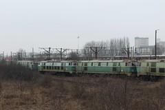 PKP, ET22-423 and ET22-594 (Chris GBNL) Tags: train pozna pkp pociag polskiekolejepastwowe et22 pkpcargo et22423 et22594