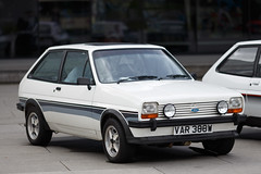 Mk 1 Ford Fiesta (<p&p>photo) Tags: auto show uk white classic ford museum river 1 scotland riverclyde clyde classiccar fiesta riverside display mark glasgow transport may autoshow event 80s 1981 motor 1980s mk 1300 supersport 2016 clydeside fordfiesta classiccarshow glasgowtransportmuseum glasgowmuseumoftransport i worldcars fordfiestamark1 riversidemuseum mk1fordfiesta glasgowriversidemuseumoftransport fordfiestasupersport fordfiesta13 mkifordfiesta may2016 fordfiestamarki mk1fordfiesta13
