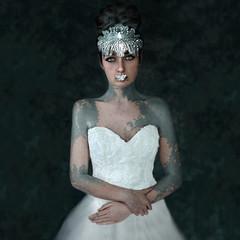 Wingwords ('_ellen_') Tags: portrait art girl butterfly fine