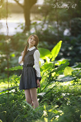 (SU QING YUAN) Tags: girl beautiful beauty female zeiss forest model pretty portail a99 135za sonnart18135