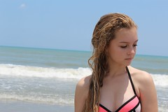 Me Beach 2016 5 14 (meganruthbrown) Tags: ocean beach water florida coconut blonde cocoa cocoabeach floridabeaches beachportrait